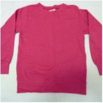Blusa de moleton 6 anos pink - 6 anos - Basic+ Kids
