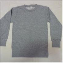 Blusa de moleton 4 anos cinza - 4 anos - Basic+ Kids