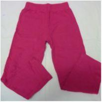 Calça de moleton 6 anos pink - 6 anos - Basic+ Kids