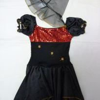 Vestido menina aranha hallowen - 8 anos - Tango Fashion