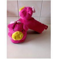 Pantufa Porquinha Pink - 24 - Não informada