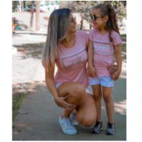 Kit CAMISETAS Tal mãe tal filha NOVAS - Único - Não informada