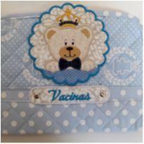 Porta Carteirinha de Vacina Patchwork  NOVA -  - Não informada