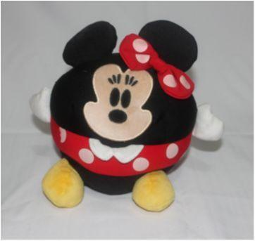 Pelúcia Minnie de bolinha Disney - Sem faixa etaria - Disney