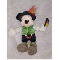 Mickey com bandeira da Alemanha pelúcia Original -  - Disney