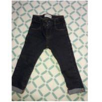 calça jeans cigarrete baby - 2 anos - Denim