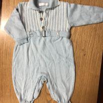 Macacão tricot - 3 meses - Paola Da Vinci
