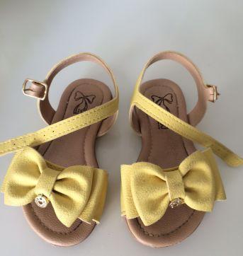 Sandália amarela Klin - 21 - Klin