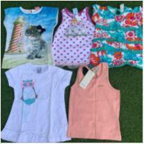 lote de camisetas nova tam 3 - 3 anos - Zara e Milon