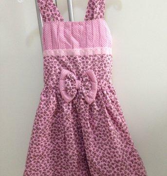 Vestido Rosa - 3 anos - Não informada