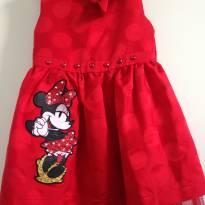 Vestido Importado Minie da  Disney - 3 anos - Disney