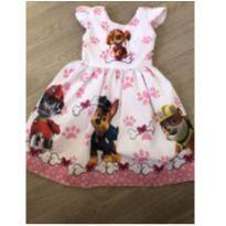 Vestido Skye da Patrulha Canina - 4 anos - Sem marca