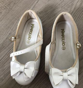 Sapato branco Pimpolho - 25 - Pimpolho