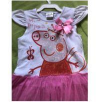 Vestido Peppa - 4 anos - Não informada