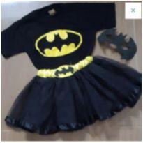 Fantasia Bat Girl - 7 anos - Não informada