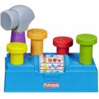 Conjunto Playskool Martelar e Aprender Plástico Colorido -  - Playskool