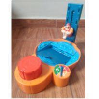 Brinquedo/jogo da piscina