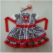 Vestido de festa junina - 1 ano - Não informada
