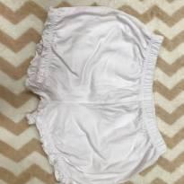 Short branco Carters - 12 a 18 meses - Carter`s