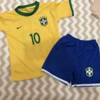 Conjunto do Brasil - 24 a 36 meses - Sem marca