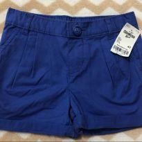 short azul escuro (oshkosh) - 4 anos - OshKosh