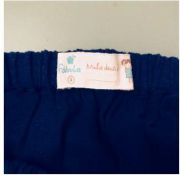Saruel azul da Prússia - 4 anos - Fábula