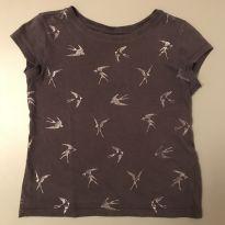 Kit: Camiseta Andorinhas + calça - 4 anos - Gouache e GAP