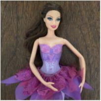 Barbie e as sapatilhas mágicas – bailarina articulada -  - Mattel