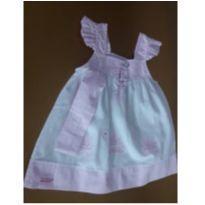 Vestido Aconchego do Bebê - 9 a 12 meses - Aconchego do Bebê