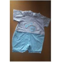 Macaquinho Novo c/ Etiqueta - 9 a 12 meses - World Baby