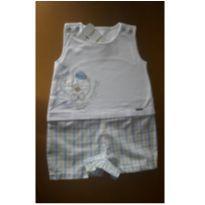 Macaquinho Novo c/ Etiqueta - 3 a 6 meses - Aconchego do Bebê