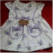 Vestido Novo c/ Etiqueta BOI DA CARA PRETA - 9 a 12 meses - Não informada