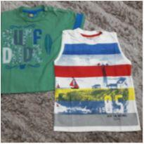 2 Camisas Novas c/ Etiqueta - 1 ano - Have Fun e Le Petit