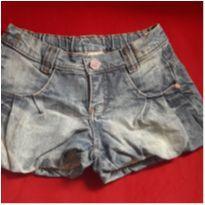 Short Jeans Luluzinha - 8 anos - Luluzinha