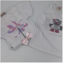 Kit 2 Blusas Novas - 6 anos - Nini e Bambini e Kids Company