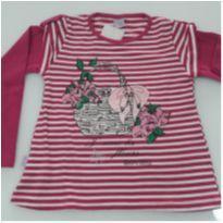 Blusa Nova - 4 anos - Quebra Cabeça