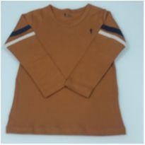Camisa em Suedine Nova c/ Etiqueta - 4 anos - Onda Marinha