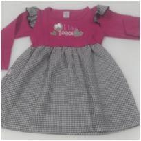 Vestido Novo c/ Etiqueta - 3 anos - Quebra Cabeça
