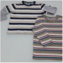 Kit 2 Camisas Novas - 3 anos - Lazy