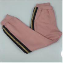 Calça de Moletom Forrada Nova c/ Etiqueta - 12 anos - Açucena