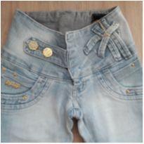 Calça Jeans Nova c/ Etiqueta N7H7não - 12 anos - Não informada