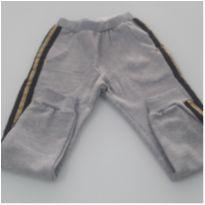 Calça de Moletom Forrada Nova c/ Etiqueta - 4 anos - Açucena