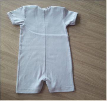 Body Novo c/ Etiqueta DEDEKA - 6 a 9 meses - Dedeka