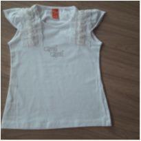 Blusa Branca Nova c/ Etiqueta