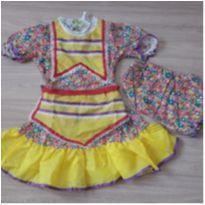 Vestido Caipira Novo c/ Etiqueta