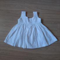Vestido Novo c/ Etiqueta - 9 a 12 meses - Nina menina