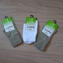 3 - meias novas na Embalagem LUPO - 3 anos - Lupo