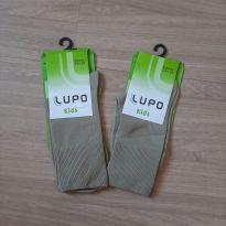2 - Meias Novas na Embalagem LUPO - 2 anos - Lupo
