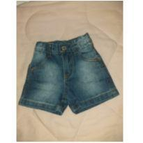 Short Jeans Baby - 0 a 3 meses - Polo