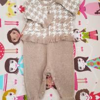 Saída de maternidade cappuccino - Recém Nascido - Lilibee